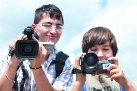 Jugendliche_Videokameras