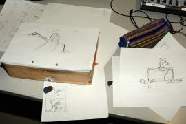 Trickfilm, Zeichentrick, Blätter