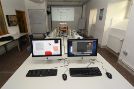 Seminarraum, Multimedialabor