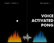 Voice Activated Pong