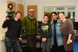 Team vom KIKA bei uns im Tonstudio