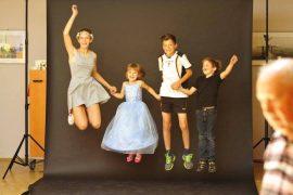 Fotoprojekt - Springende Kinder