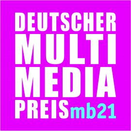 Logo Deutscher Multimediapreis mb21