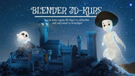 3D-Figuren mit Blender