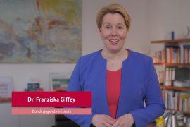 Giffey-Videoaufruf 2020