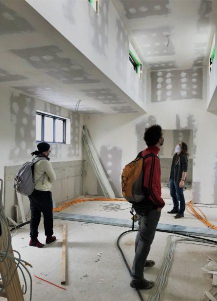 Reaktanz Kraftwerk Mitte Dresden - Baustellenbegehung