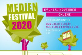 Ankündigung Medienfestival 2020